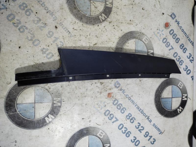 Накладка двери боковая Bmw 3-Series F30 N20B20 2013 задняя левая (б/у)