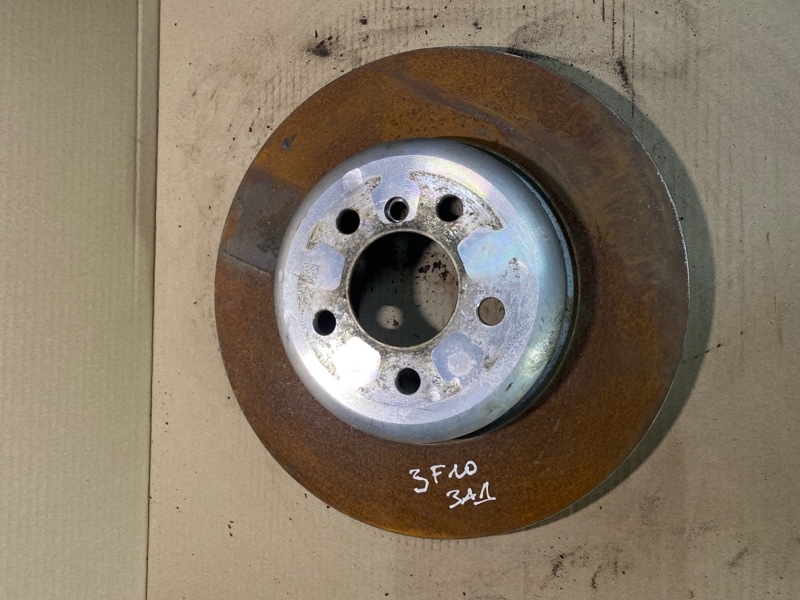 Тормозной диск Bmw 5-Series F10 N63B44 2011 задний (б/у)