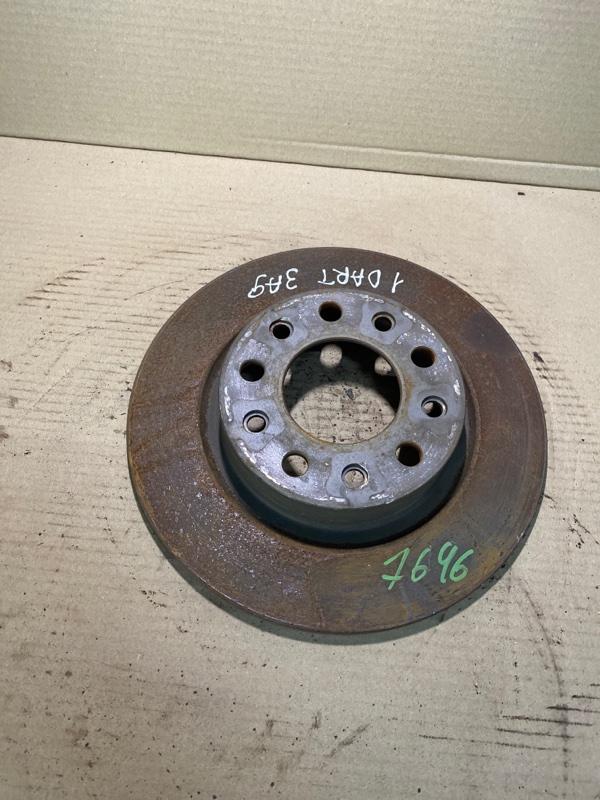 Тормозной диск Dodge Dart 2.4 2014 задний (б/у)
