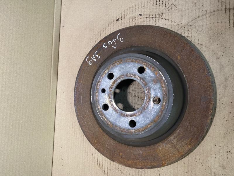 Тормозной диск Ford Fusion 2.5 2014 задний (б/у)