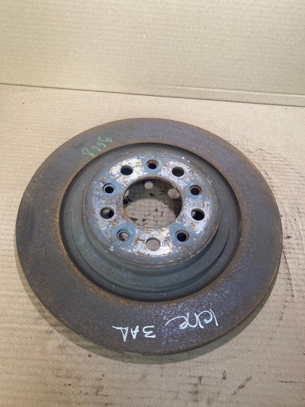 Тормозной диск Jeep Cherokee KL 2.4 2014 задний (б/у)