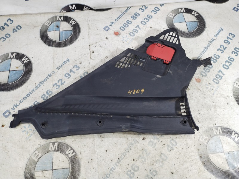 Пластик подкапотный Bmw 3-Series F30 N20B20 2013 правый (б/у)