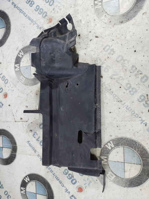 Дефлектор радиатора Dodge Dart 2.4 2014 левый (б/у)
