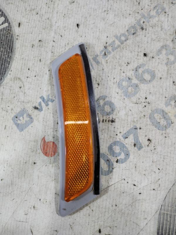 Катафот бампера Bmw 5-Series F10 N63B44 2011 передний левый (б/у)