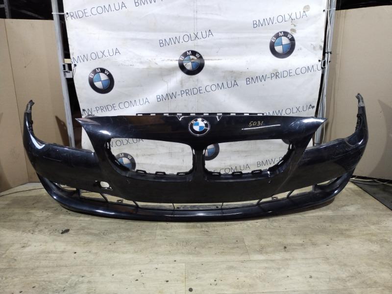 Бампер Bmw 5-Series F10 N63B44 2011 передний (б/у)