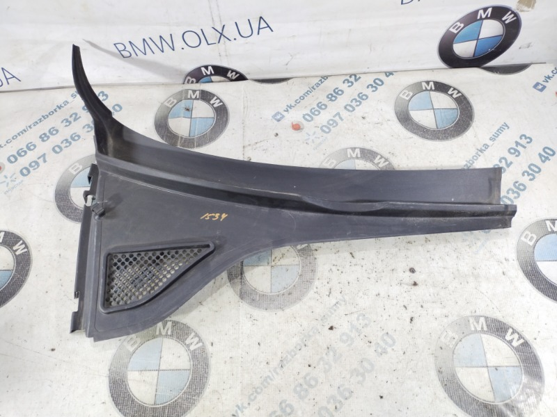 Решетка под лобовое стекло Volkswagen Passat B8 1.8 2016 правая (б/у)