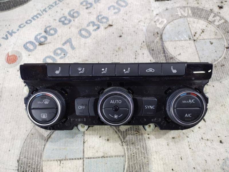 Блок управления климат-контролем Volkswagen Passat B8 1.8 2016 (б/у)