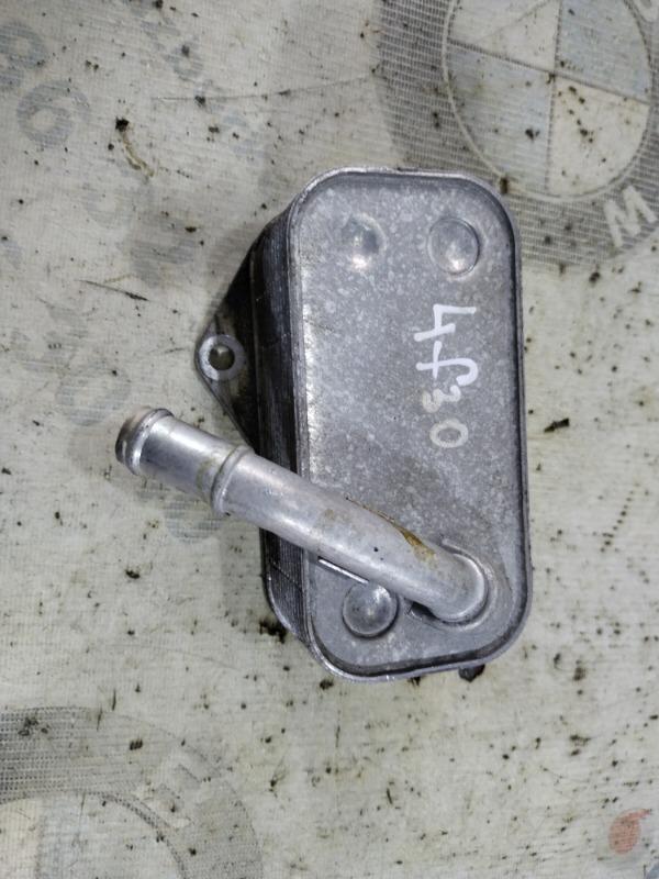 Радиатор масляный Bmw 3-Series F30 N20B20 2013 (б/у)