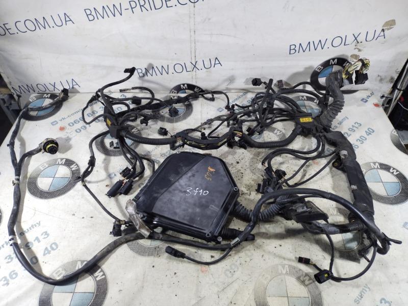 Проводка моторная Bmw 5-Series F10 N63B44 2011 (б/у)