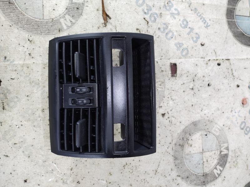 Воздуховод центральный Bmw 5-Series F10 N63B44 2011 задний (б/у)