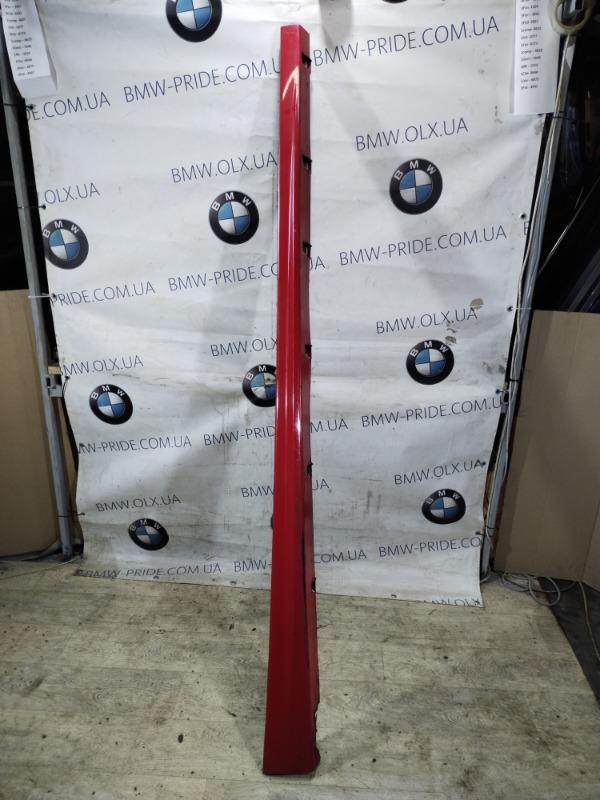 Накладка на порог Chevrolet Cruze правая (б/у)