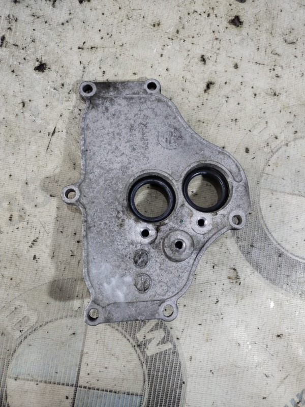 Крышка Bmw 5-Series F10 N63B44 2011 левая (б/у)