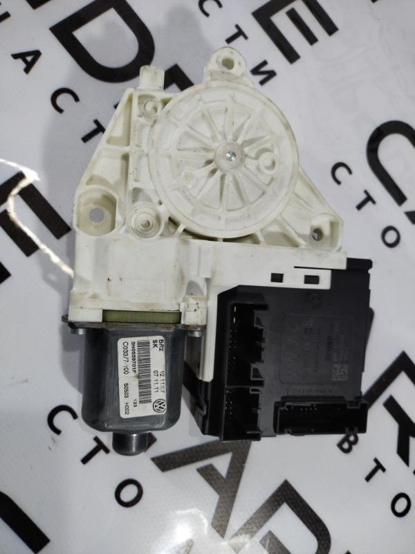 Мотор стеклоподъемника Volkswagen Tiguan передний левый (б/у)