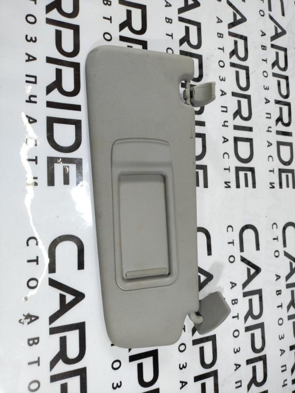 Козырек солнцезащитный Bmw 5-Series F10 N63B44 2011 правый (б/у)