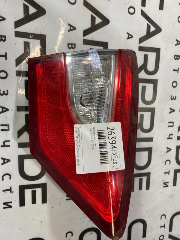 Задний фонарь Ford Fusion 2.5 2014 левый (б/у)