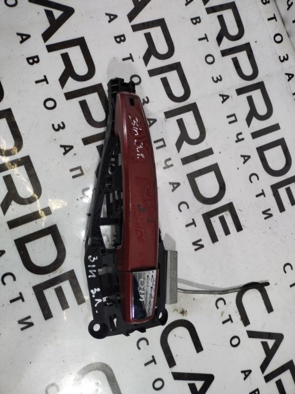 Ручка двери внешняя Opel Insignia A 2.0 DTH 2009 задняя левая (б/у)