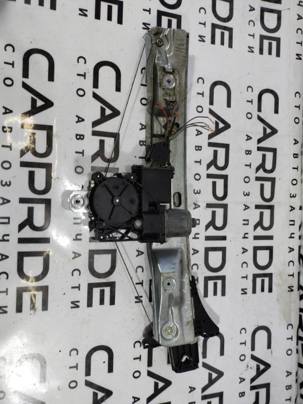 Стеклоподъемник Opel Insignia A 2.0 DTH 2009 задний левый (б/у)
