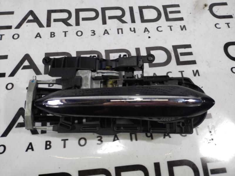 Ручка двери внешняя Bmw 5-Series F10 N63B44 2011 задняя правая (б/у)