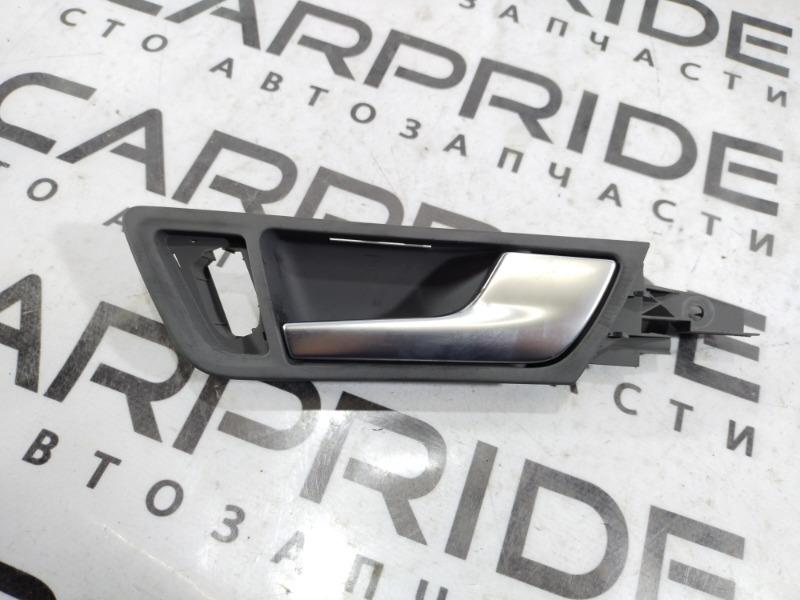 Ручка двери внутренняя Audi Q5 передняя правая (б/у)