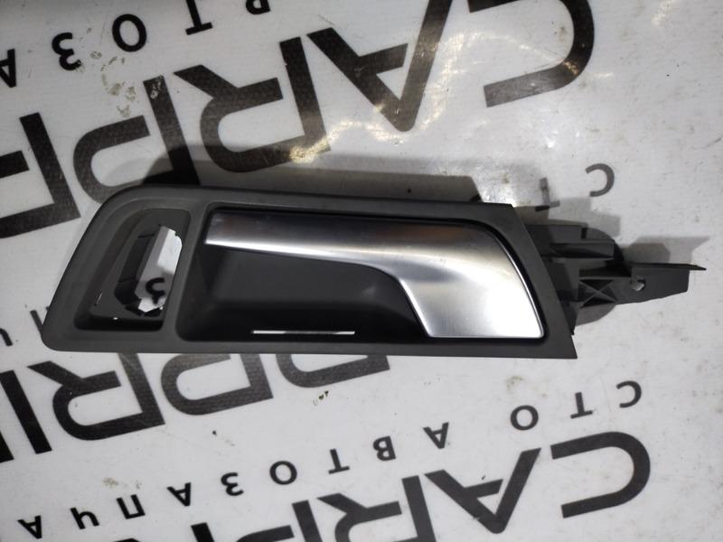 Ручка двери внутренняя Audi Q5 передняя левая (б/у)