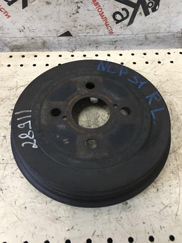 Тормозной барабан Toyota Bb NCP31 задний левый (б/у)