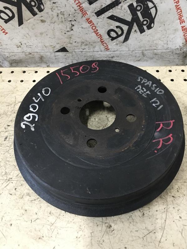 Тормозной барабан Toyota Corolla Spacio NZE121 задний (б/у)