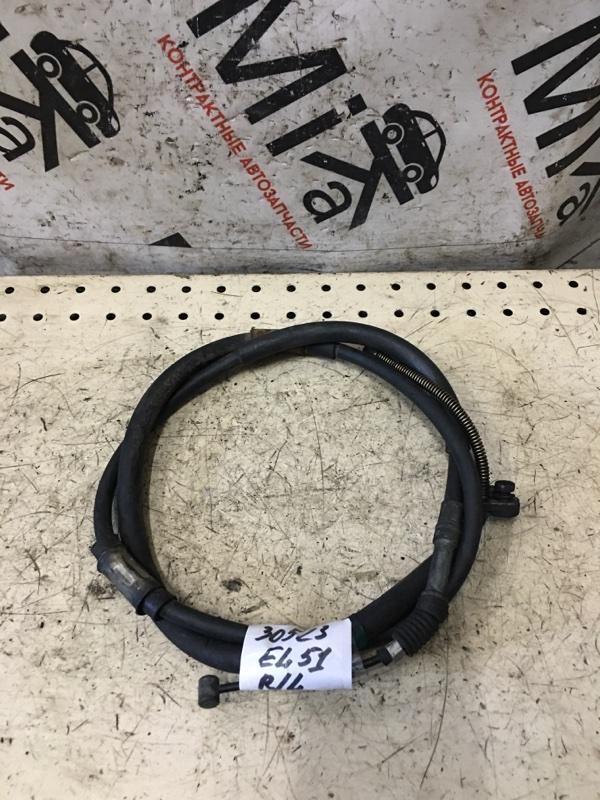 Трос ручника Toyota Corsa EL51 задний левый (б/у)