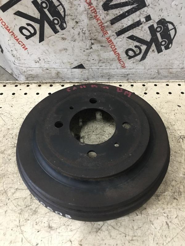Тормозной барабан Nissan Tiida Latio SC11 задний правый (б/у)