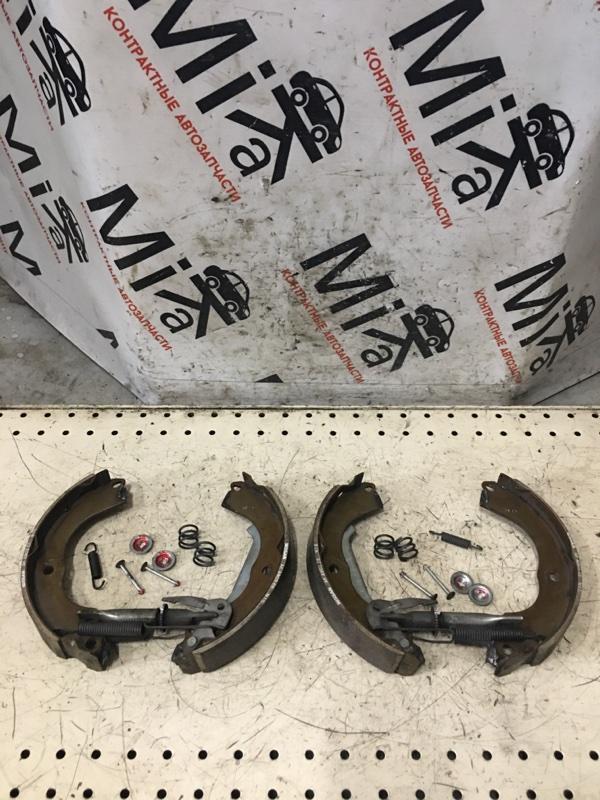 Тормозные колодки Nissan Tiida Latio SC11 заднее (б/у)