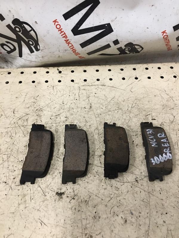 Тормозные колодки Toyota Windom MCV30 заднее (б/у)