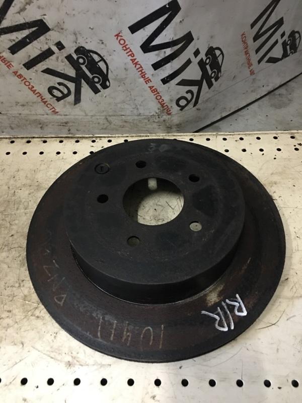 Тормозной диск Nissan Murano PNZ50 задний правый (б/у)
