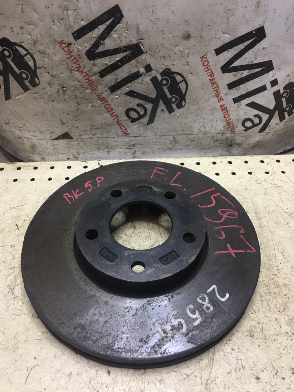 Тормозной диск Mazda Axela BK5P передний (б/у)