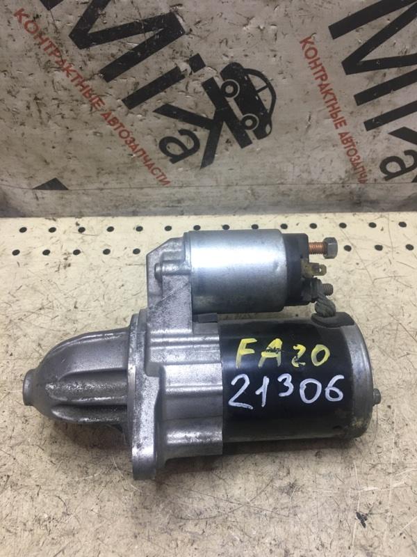 Стартер Subaru Outback BRG FA20 (б/у)