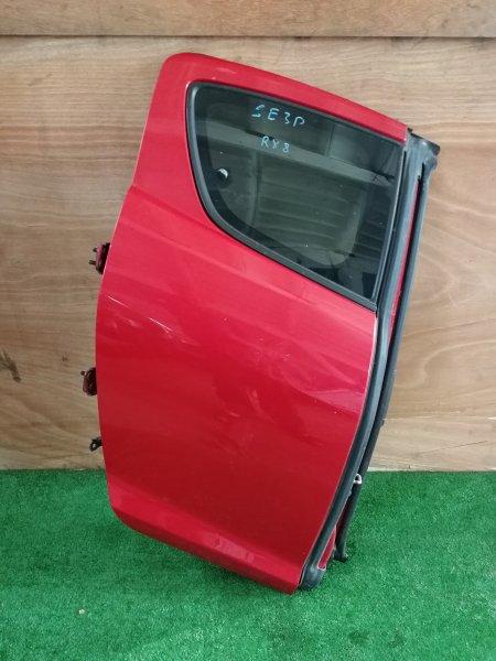 Дверь Mazda Rx8 SE3P задняя правая (б/у)