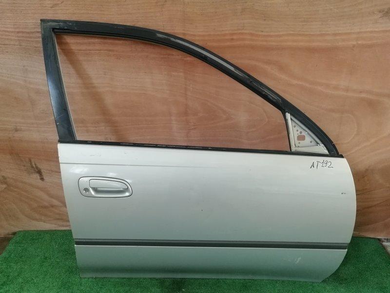 Дверь Toyota Carina AT192 передняя правая (б/у)