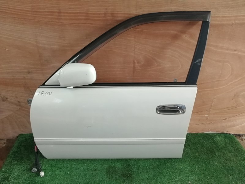 Дверь Toyota Sprinter AE110 передняя левая (б/у)