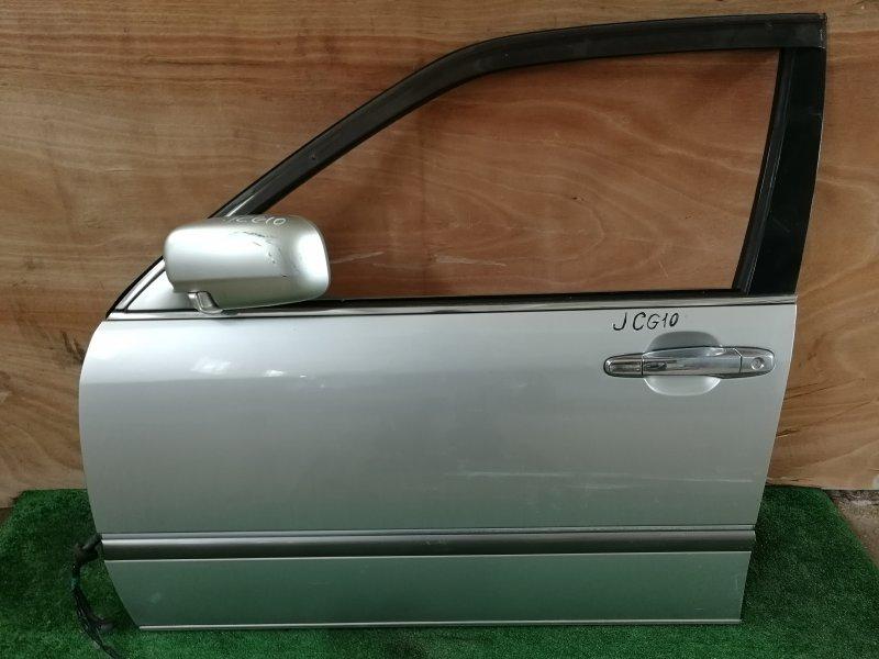 Дверь Toyota Progres JCG10 передняя левая (б/у)