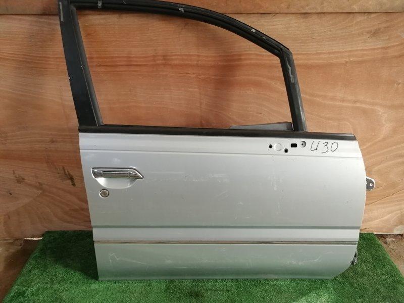 Дверь Nissan Presage U30 передняя правая (б/у)
