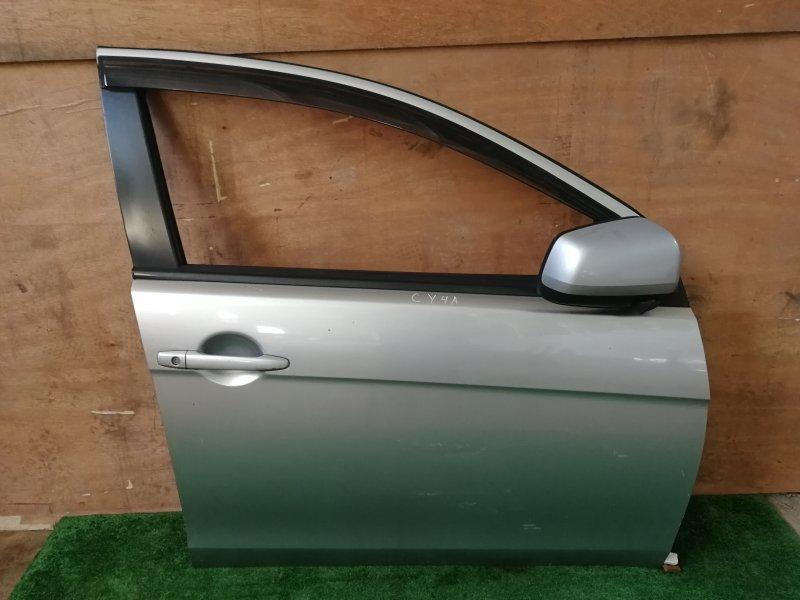 Дверь Mitsubishi Lancer X CY4A передняя правая (б/у)