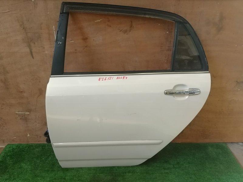 Дверь Toyota Allex NZE121 задняя левая (б/у)