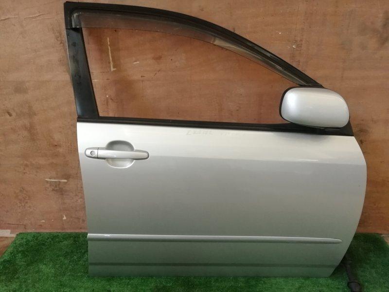 Дверь Toyota Corolla Filder ZZE122 передняя правая (б/у)