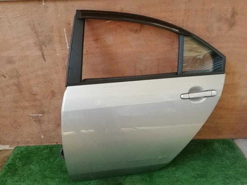 Дверь Nissan Primera P12 задняя левая (б/у)