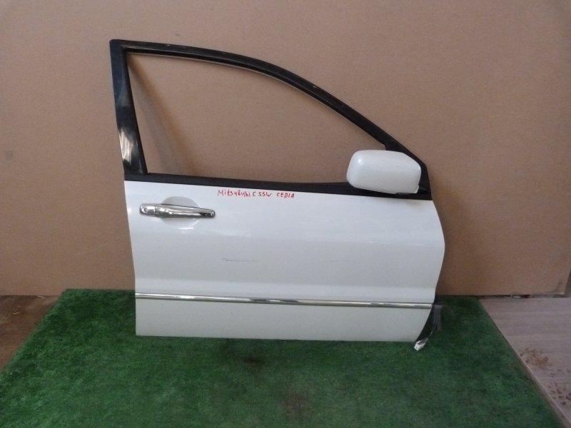 Дверь Mitsubishi Lancer CS5W передняя правая (б/у)