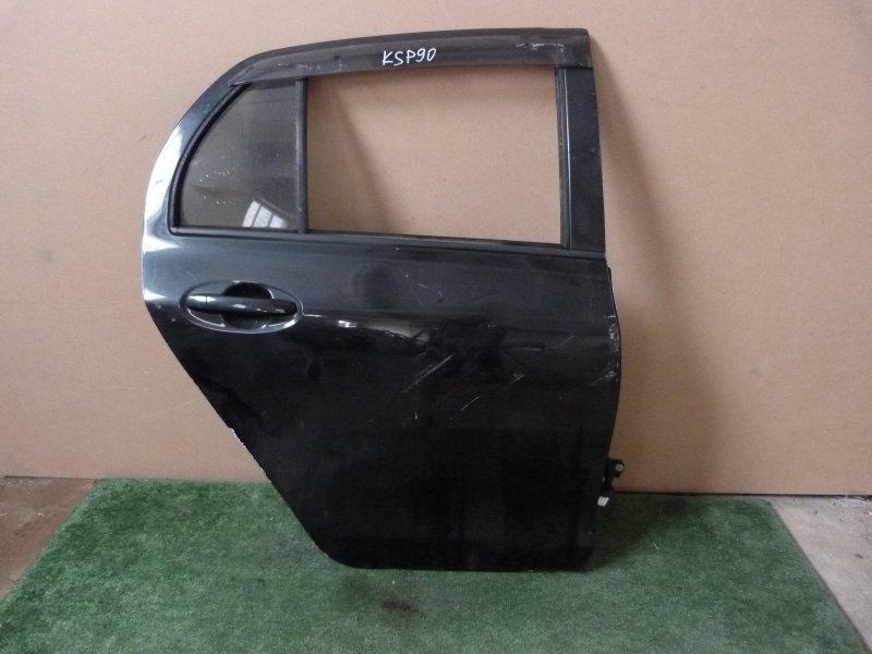 Дверь Toyota Vitz KSP90 задняя правая (б/у)