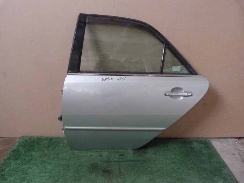 Дверь Toyota Mark Ii GX110 задняя левая (б/у)