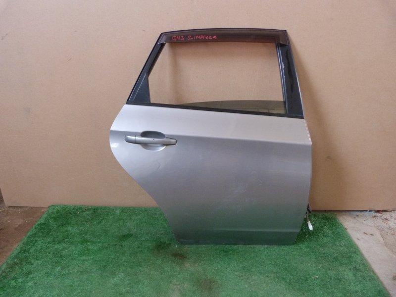 Дверь Subaru Impreza GH3 задняя правая (б/у)