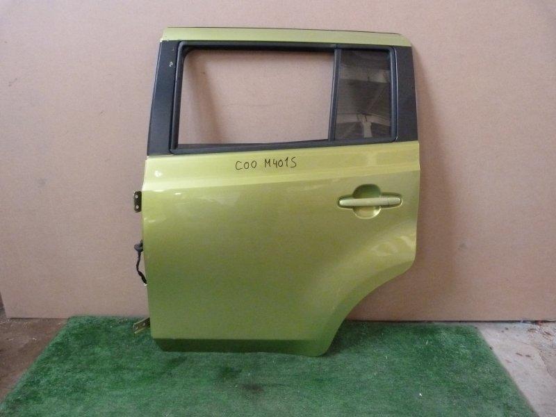 Дверь Daihatsu Coo M401S задняя левая (б/у)