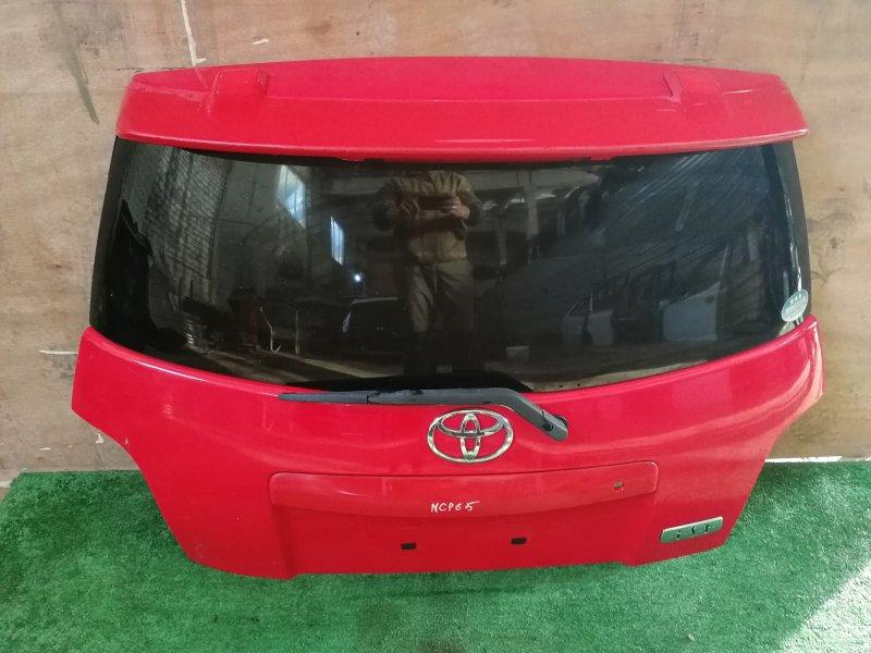 Дверь багажника Toyota Ist NCP65 задняя (б/у)