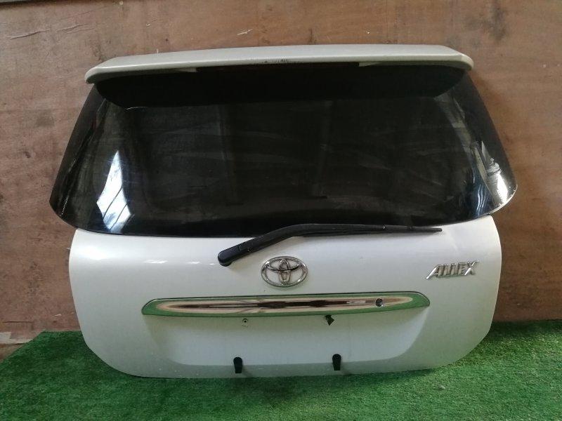 Дверь багажника Toyota Allex NZE121 задняя (б/у)