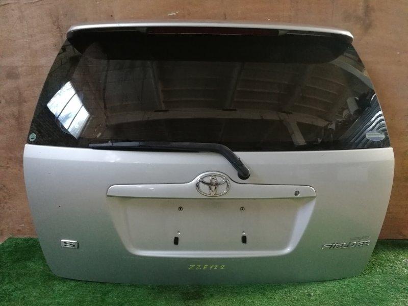 Дверь багажника Toyota Corolla Filder ZZE122 задняя (б/у)